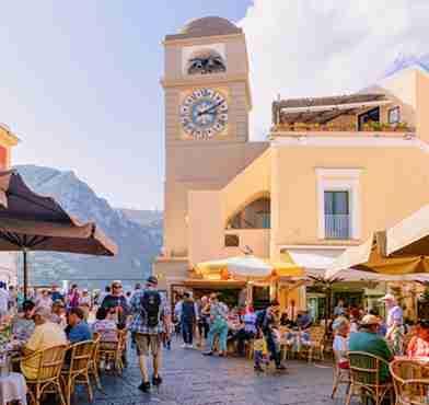 Piazzetta a Capri